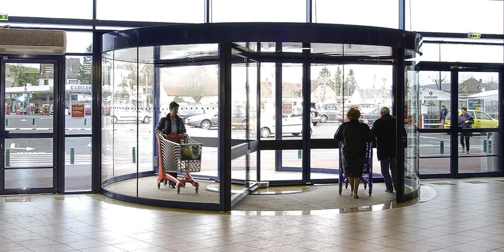 回転ドア | トーネックス | 商品紹介 | 自動ドアのナブコシステム